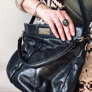 Marco Jacobs Black Leather Bag